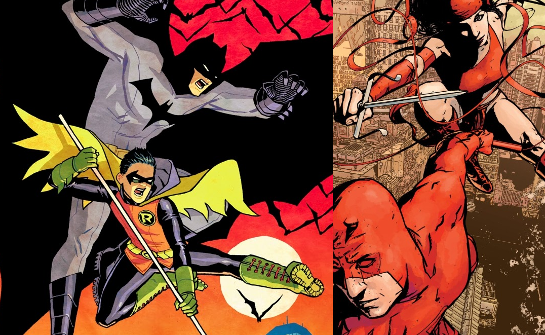Battle of the Week RESULTS: Batman and Robin vs. Daredevil and Elektra