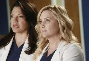 Sara Ramirez, Jessica Capshaw | Photo Credits: Ron Tom/ABC