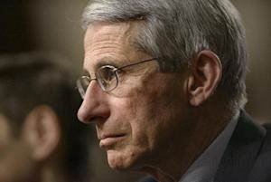 Dr. Anthony Fauci, director of the National Institute …