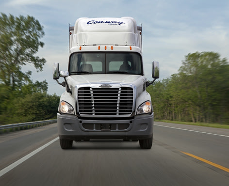Con-way Freight is the first LTL carrier in the U.S. to simultaneously deploy both the event recorder and advanced performance management technologies fleet-wide