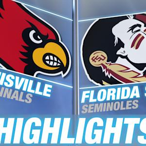 Louisville vs Florida State | 2014-15 ACC Men's Basketball Highlights