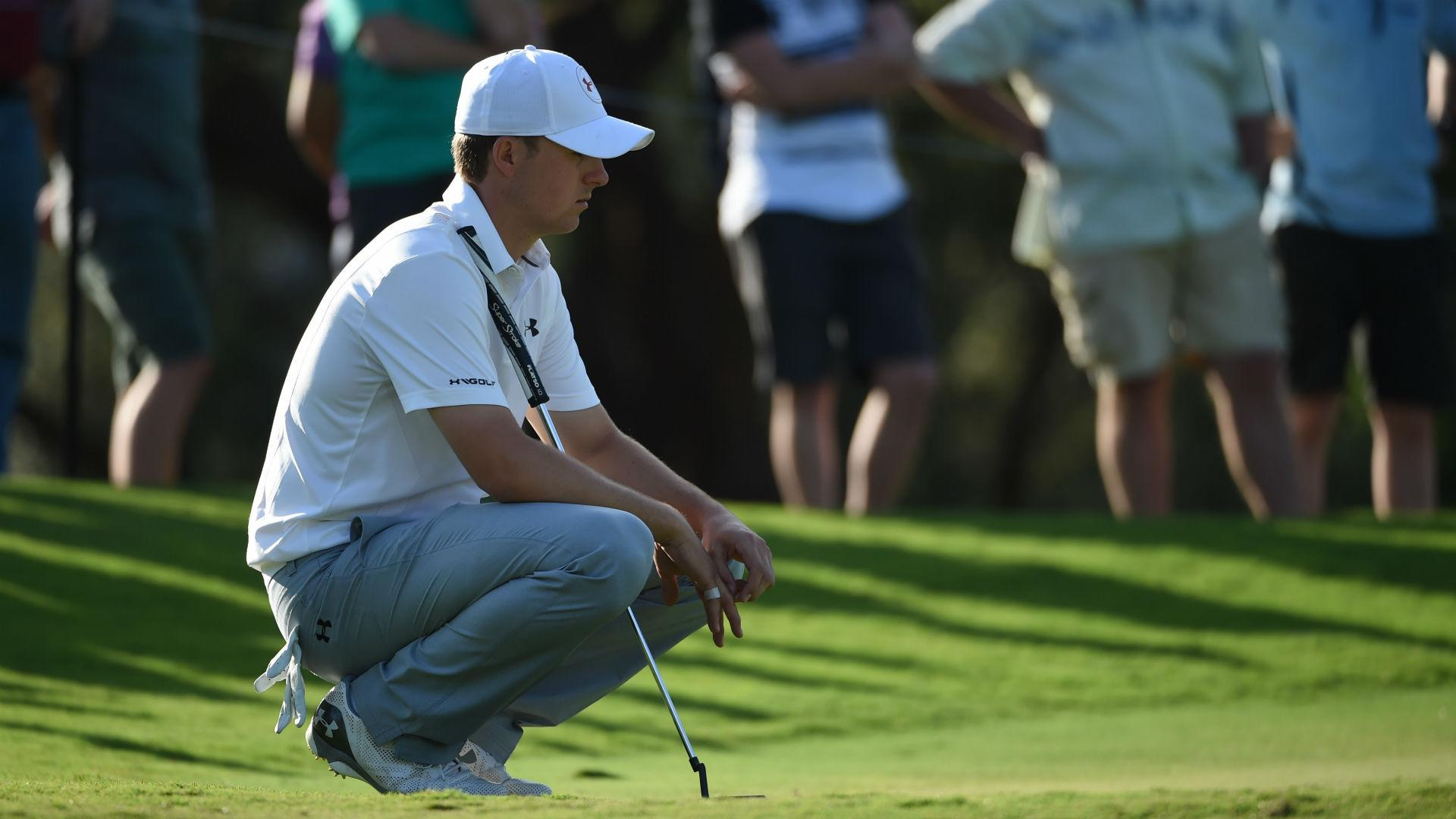Spieth struggles with Australian Open 'guessing game'