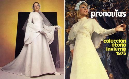 Would You Wear These '70s Inspired Wedding Dresses?
