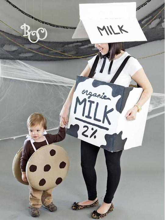 Mommy-and-Me Costume: Cookies and Milk