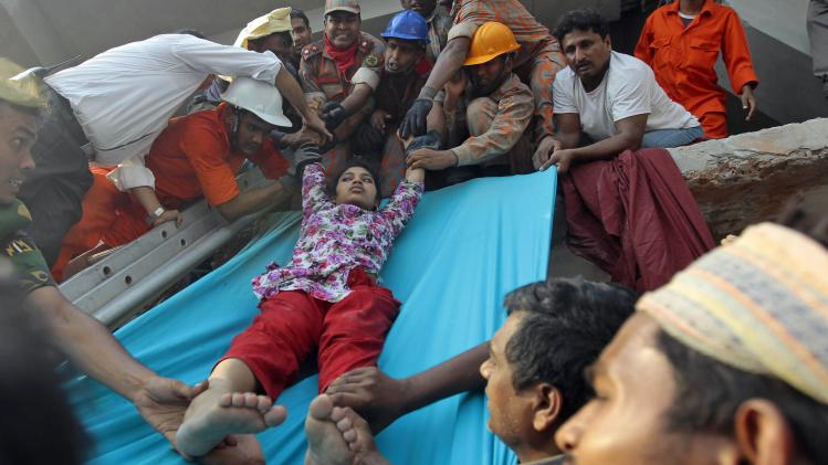 Collapsed Bangladesh factories ignored evacuation