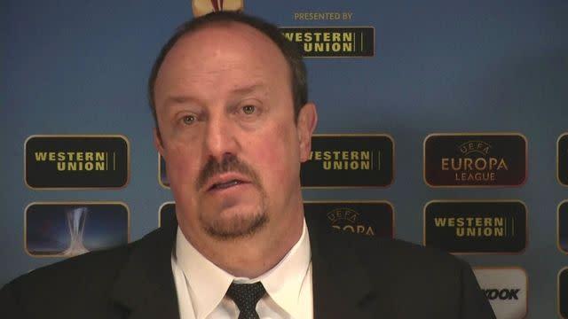 Benitez believes confident Torres will continue to score