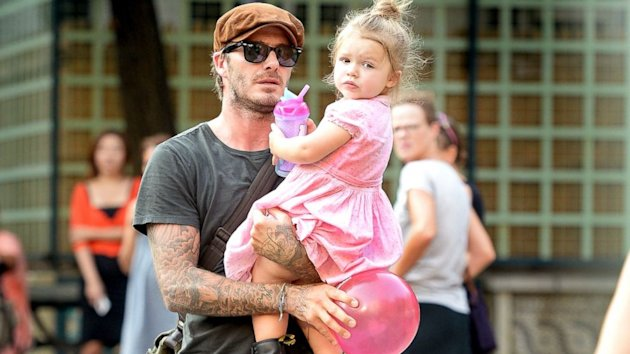 David Beckham on His New Full-Time Job: 'I'm Dad' (ABC News)