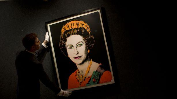 The Queen's New Andy Warhol Paintings Were a Bargain