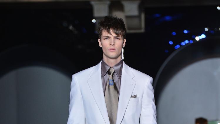 Versace - Runway - Milan Fashion Week Menswear Autumn/Winter 2013
