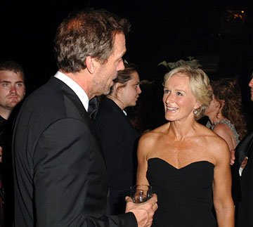 Hugh Laurie and Glenn Close