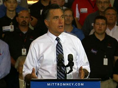 Romney says his campaign has 'bigger' ideas