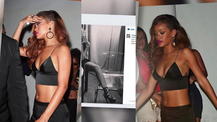 Rihanna Shows Off Her Smokin' Hot Bikini Body After Florida Gig