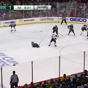 Devan Dubnyk Save on Alexander Steen (11:30/1st)