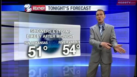 Darby's Weather Webcast, March 29th