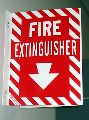 Expired of Old Fire Extinguishers