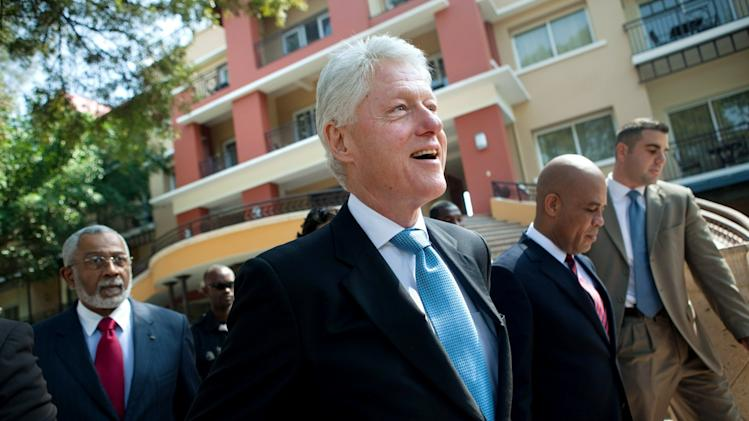 Bill Clinton Meets With Haitan Officials Regarding Elections