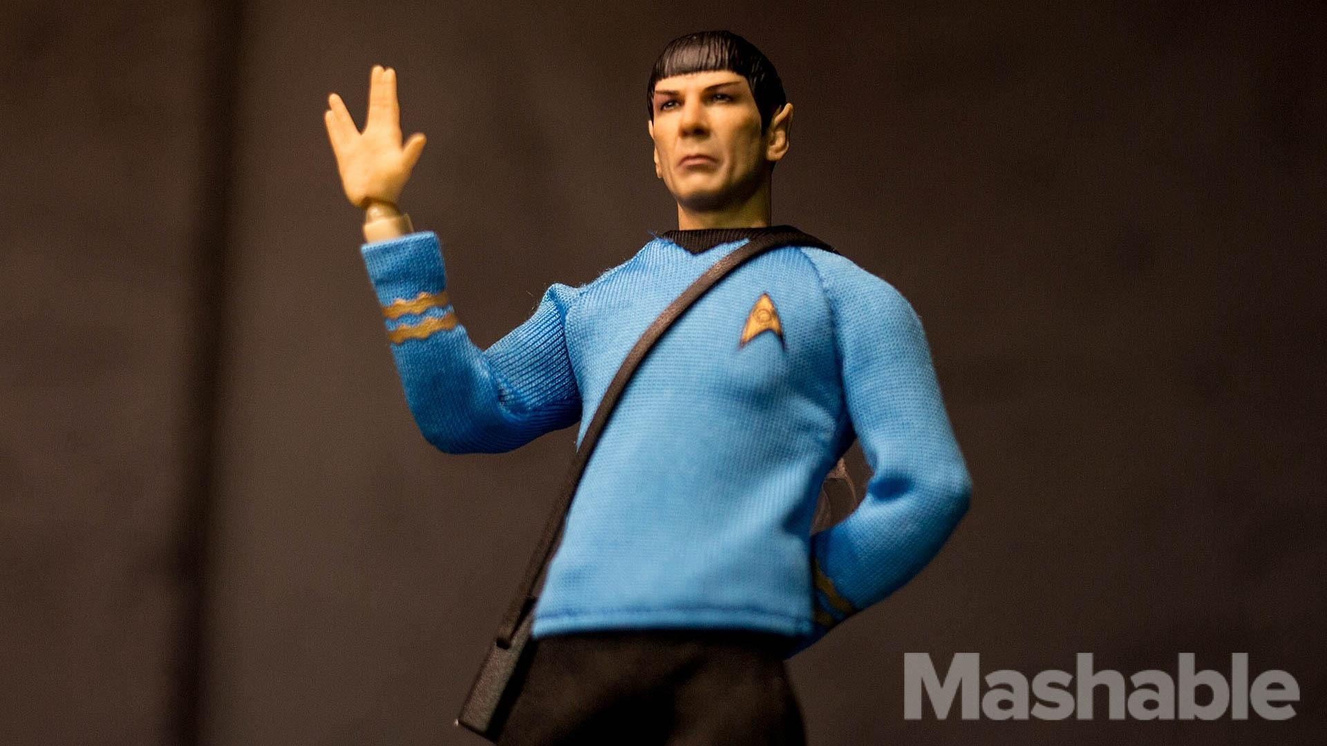 6-inch Mr. Spock looks so much like Leonard Nimoy it's scary
