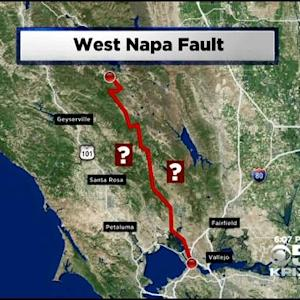Napa Quake Brings Attention To Small Faults