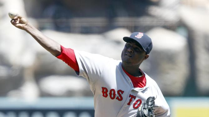 Cespedes' HR puts weary Red Sox past Angels 3-1