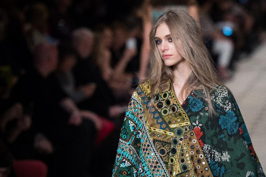 Get the beauty looks from London Fashion Week