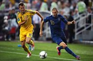 Benzema praises France performance after stormy win over Ukraine