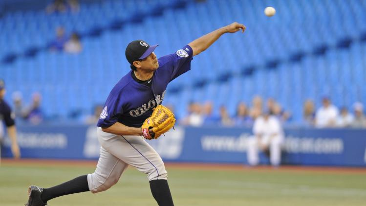 Colorado Rockies v Toronto Blue Jays