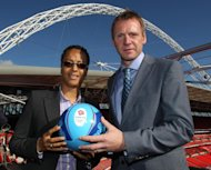 Hope Powell (left) and Stuart Pearce