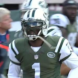 NFL NOW: Jets QB Michael Vick stresses ball security