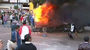 Raw Video: Egypt police clash with protesters