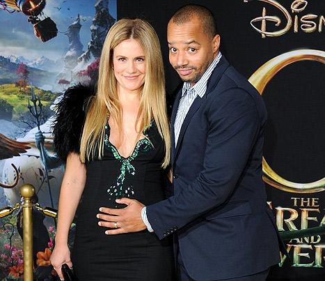 "CaCee Cobb Jokes: Husband Donald Faison Is ""Growing a Vagina"" While I'm Pregnant"