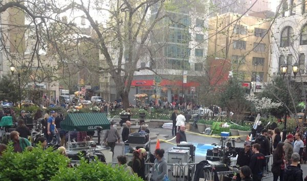 amazing spider man filming new york