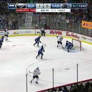 Ryan Miller Save on Chris Stewart (07:00/1st)