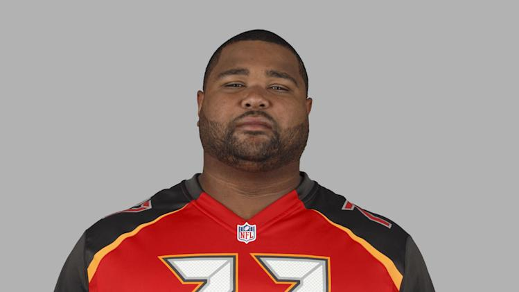 This is a 2014 photo of Carl Nicks of the Tampa Bay Buccaneers NFL football team. This image reflects the Tampa Bay Buccaneers active roster as of , January 1, 0000 when this image was taken. (AP Photo)