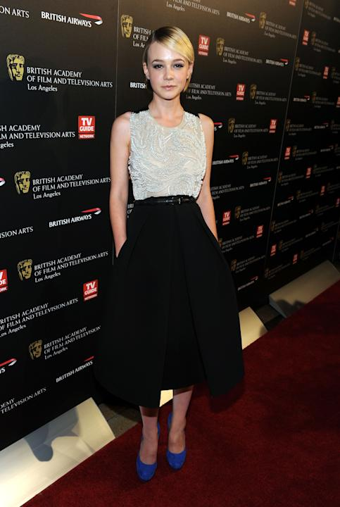 Carey Mulligan in Preen