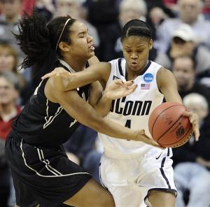 UConn women rout Idaho 105-37 in NCAA first round