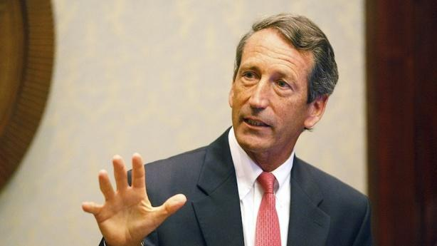 Mark Sanford Proposed After Hiding in a Bathroom for an Hour