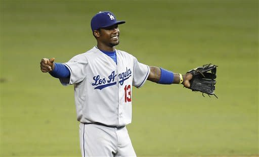 Ramirez lifts Dodgers with 2 RBIs in Miami return
