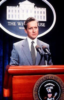 Michael Douglas in 'The American President'