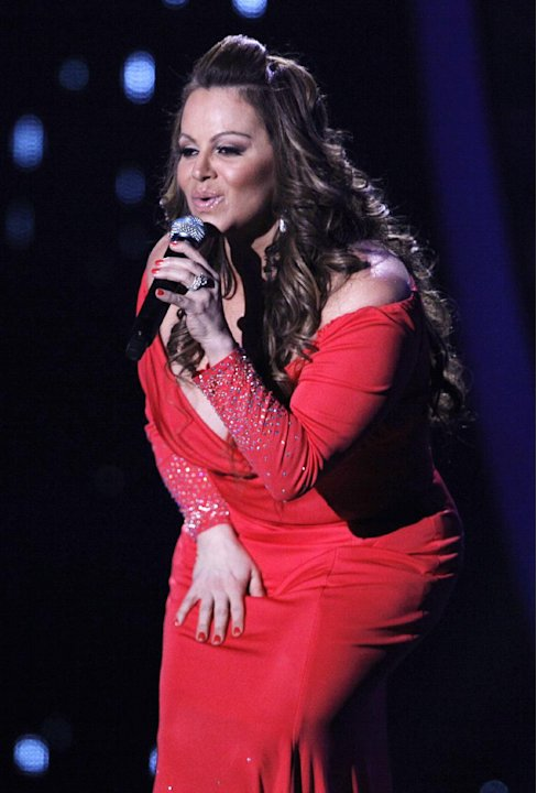 In this April 26, 2012, file photo, singing superstar Jenni Rivera performs during the Latin Billboard Awards in Coral Gables, Fla. Authorities in Mexico say the wreckage of a small plane believed to 