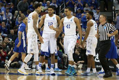 16 thoughts on the Sweet 16: It's still Kentucky vs. the world
