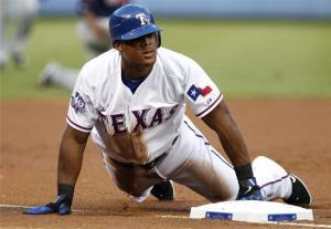 Harrison 8 scoreless, Beltre cycle for Rangers