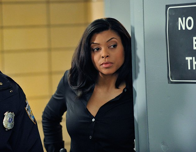 "Taraji P. Henson in ""Person of Interest."""
