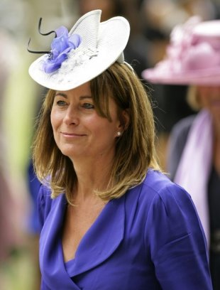 Carole Middleton wore the same blue Reiss dress back in 2010