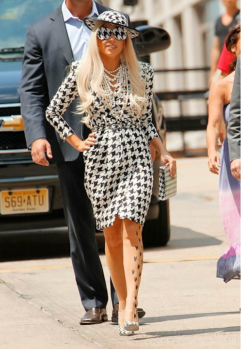 Lady Gaga Out InNY