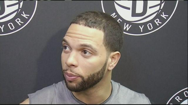 Brooklyn Nets players speak before Chicago Bulls match-up