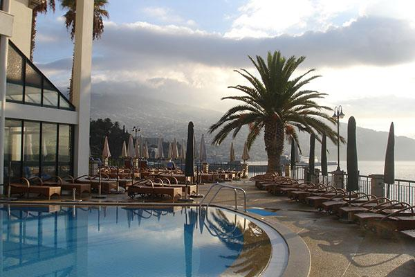 The Cliff Bay (Porto Bay) In Funchal, Portugal