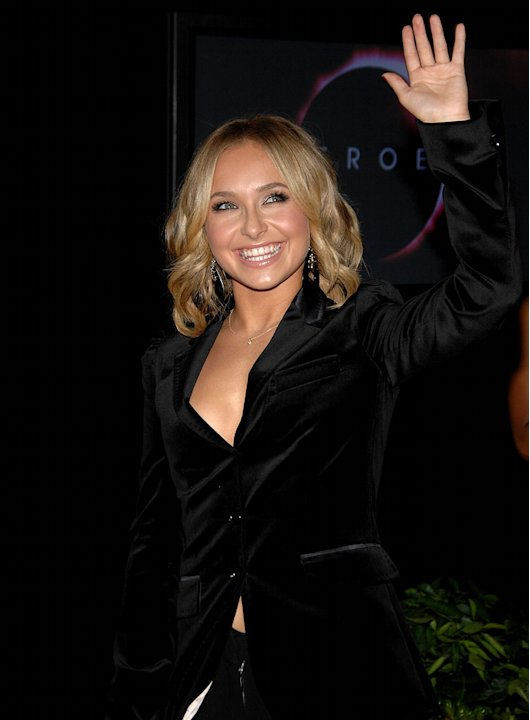 "Hayden Panettiere arrives at the ""Heroes"" countdown to the Premiere event held at the Edison Lounge on Sunday September 7th, 2008 in Los Angeles, California."