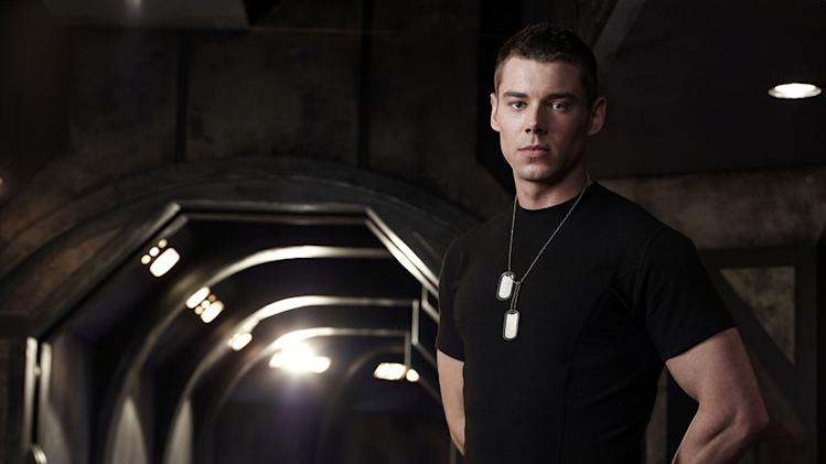 "Brian J Smith stars as Lt. Matthew Scott in ""Stargate Universe."""