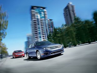 In spite of Ford's overall drop, the Ford Fusion Hybrid maintained its outstanding rating.