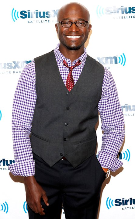 Taye Diggs Taye Diggs Visits SiriusXM Studio